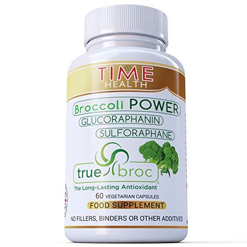 New: Glucoraphanin & Sulforaphane from Broccoli Seed & Sprout Extract - Long-Lasting Antioxidant Properties - Premium TrueBroc Formula - 100% Vegan (60 Capsule Bottle)