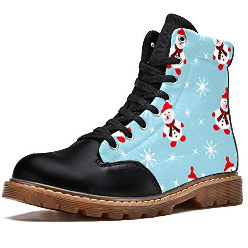 TIZORAX Botas de invierno para las mujeres copo de nieve mu�
