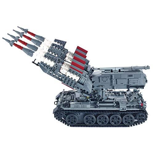 LINANNAN Blocchi di Costruzione Militare del dosgo, 1753pcs SA-3 Missile T5 Serie Militare Serbatoio Militare Arma del carro Armato Modello per Bambini Adulti compatibili con Lego