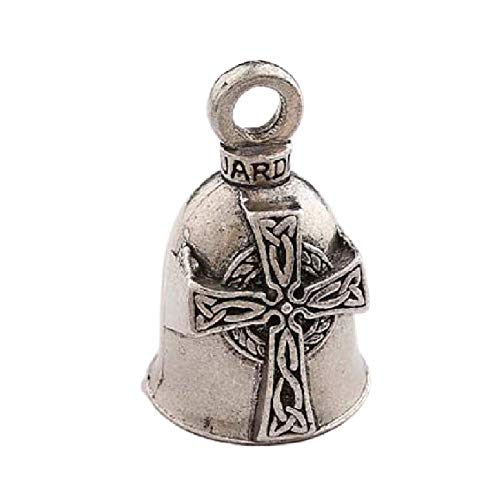 Guardian Bell Celtic Cross with Custom Gift Box Harley Biker Bell Ride to Live