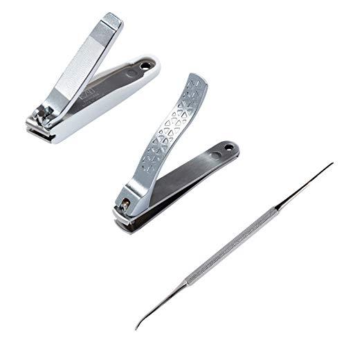 貝印 巻き爪用ツメキリ・ヤスリセット3点セット(凸刃ツメキリ、直線刃ツメキリ、ヤスリ) 巻き爪 ケア最適