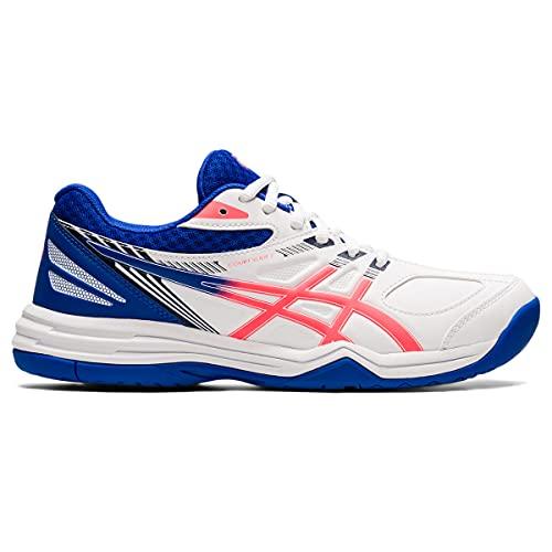 ASICS Court Slide 2, Zapatillas de Tenis Mujer, White Blazing Coral, 42 EU