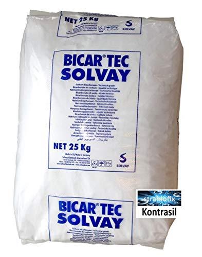Preisvergleich Produktbild 25 kg Soda Strahlmittel Strahlsoda 0, 3-0, 5 mm