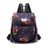 Mini mochila de impresión de la mochila de la escuela casual mochila pequeña bolsa de las mujeres de la mochila para el estudiante de la escuela, Color-b, L