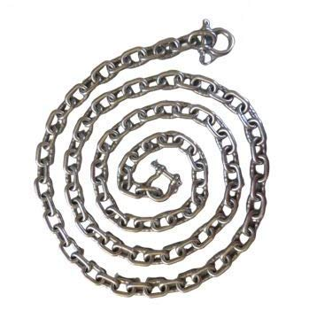 US Stainless Stainless Steel 316 Anchor Chain 5/16' or 8mm by 10' Long with Anti-Off Shackles Advanced Lock Ring Design