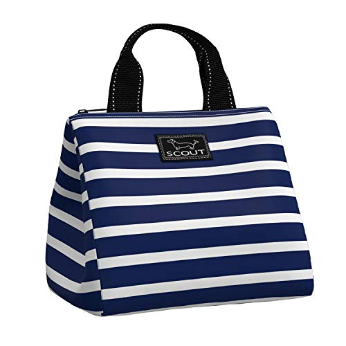 SCOUT Eloise Lunch Bag Handbag-Inspired Design Water-Resistant Lightweight Insulated Lunch Box for Women with Zippered Closure and Exterior Pocket
