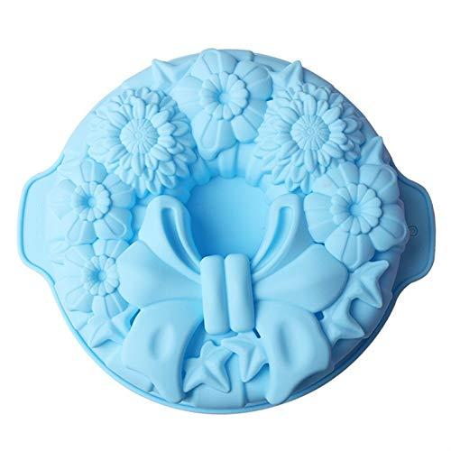 FantasyDay® Stampo in Silicone per Tortiera Forma di Uova di Pasqua, 26.4 x 29.6 cm Muffa da Forno per Biscotti, Cioccolato, Tortini, Cioccolato, Torte, Dolci, Muffin - Antiaderente & Termoresistente