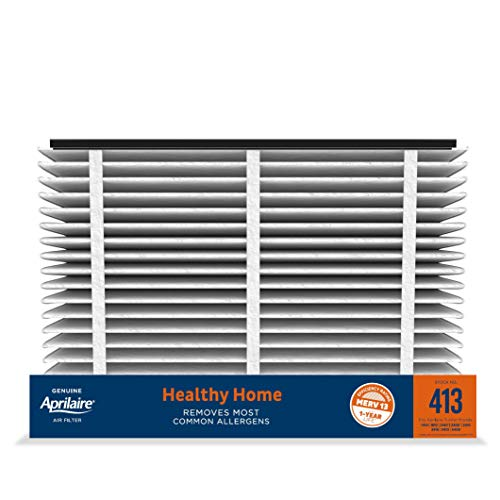 Aprilaire - 413 A2 413 Replacement Air Filter for Whole Home Air Purifiers, Healthy Home Allergy Filter, MERV 13 (Pack of 2)
