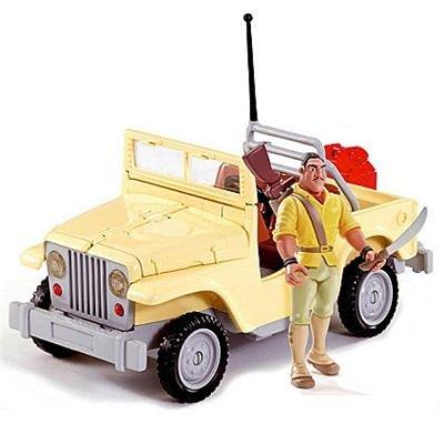 Famosa 700003463 - Tarzan Jeep mit Figur