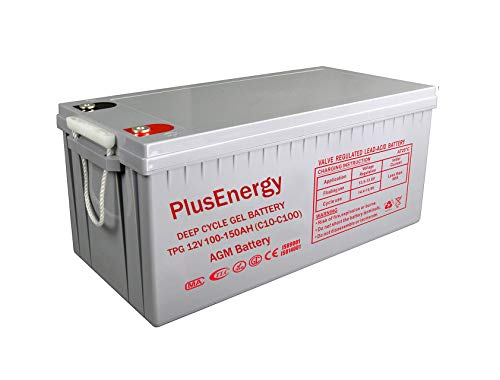 Bateria AGM/GEL PlusEnergy 12V 250AH / 150AH - Ciclo