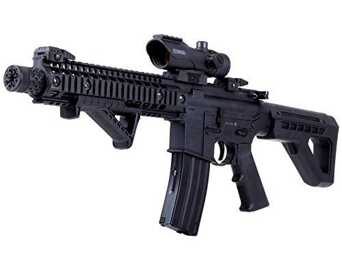 Crosman DPMS DPMS SBR Full-Auto BB Air Rifle kit Kit, Black