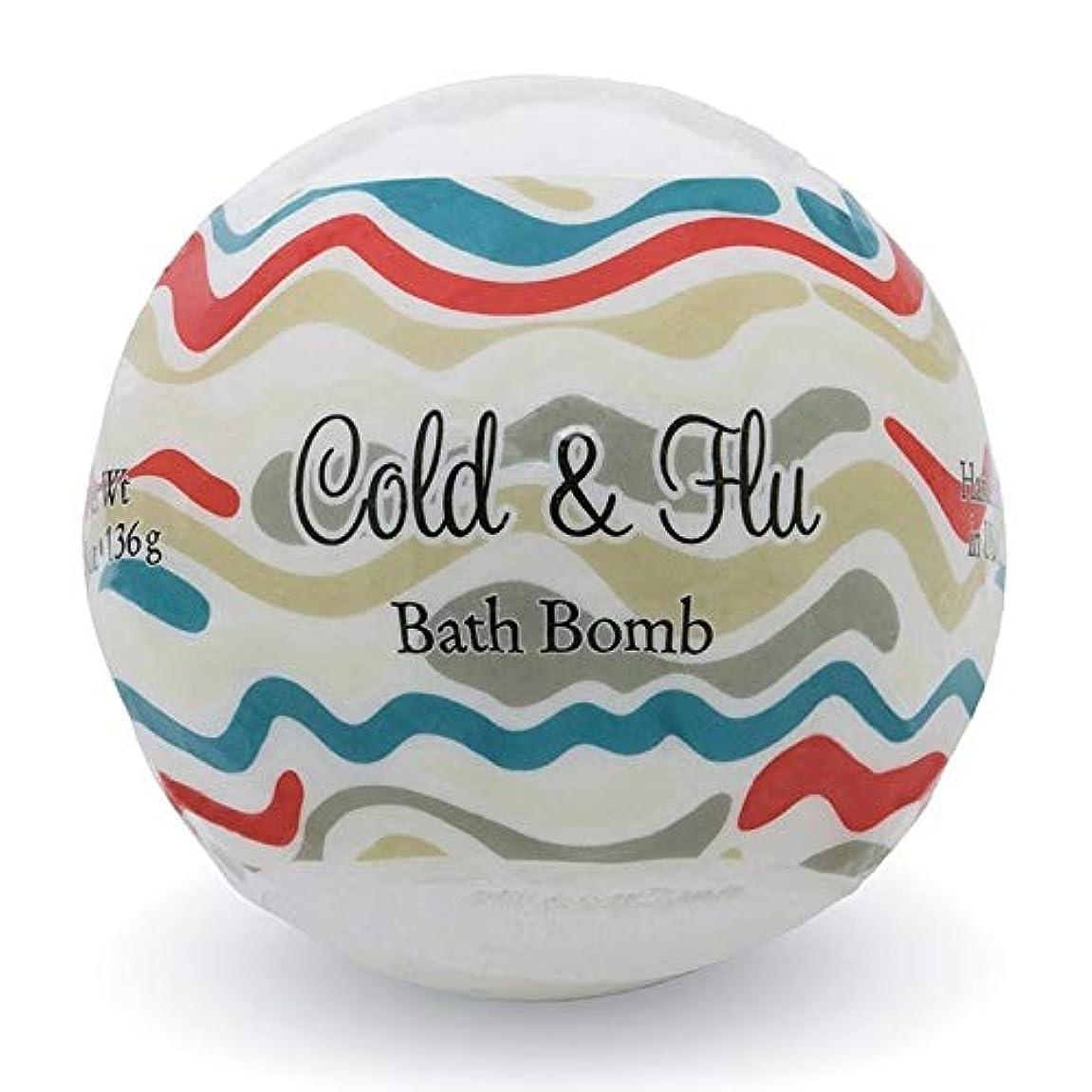 先小道具あいさつプライモールエレメンツ バスボム/コールド&フルー 136g シアバターとココナツ&アルガンオイル配合のお肌に潤いを与える発泡性入浴剤