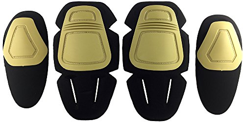 SportPro cm Protective Combat Knee and Elbow Pads Pack for G3 Pants – Dark Earth