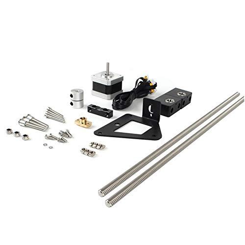 WEJUANR 3D-Drucker Teil Ender-3 Aluminium Doppel-Z-Achse Leitspindel Upgrade Kit for Ender-3 Pro