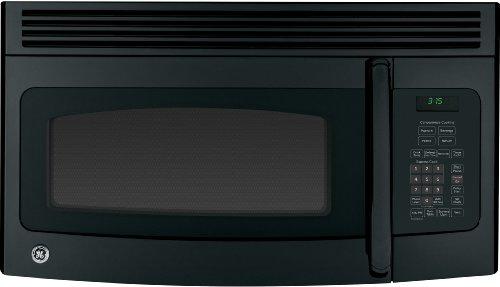 GE JNM3163DJBB Over-The-Range Microwave Oven, 1.6 cu. ft., 1000W, Black