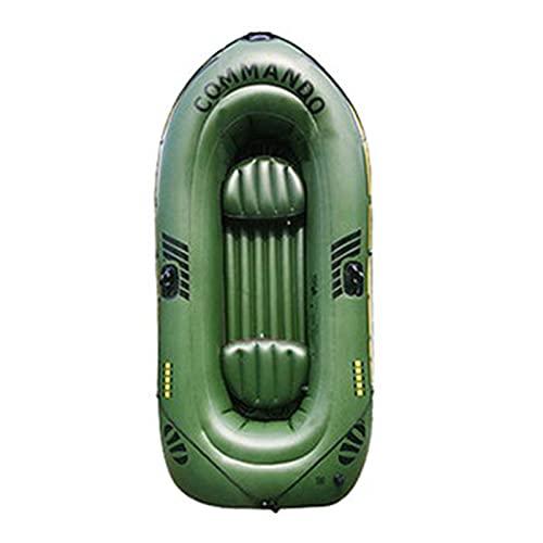 Dent Aufblasbesares Boot Exkursion Schlauchboot Serie aufblasbares Schlauchboot aus Gummi Verdickt 2/3 Personen Trangares Drifting Boot Kayak, Einfach Aufzublasen Undwo Enteineren