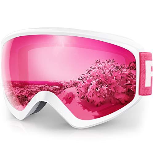 findway Skibrille Kinder,Ski Snowboard Brille Brillenträger Snowboardbrille Schneebrille...