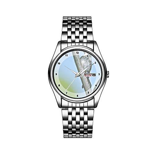 Reloj de lujo para hombre, resistente al agua, 30 m, con fecha, reloj deportivo, de cuarzo, informal, regalo
