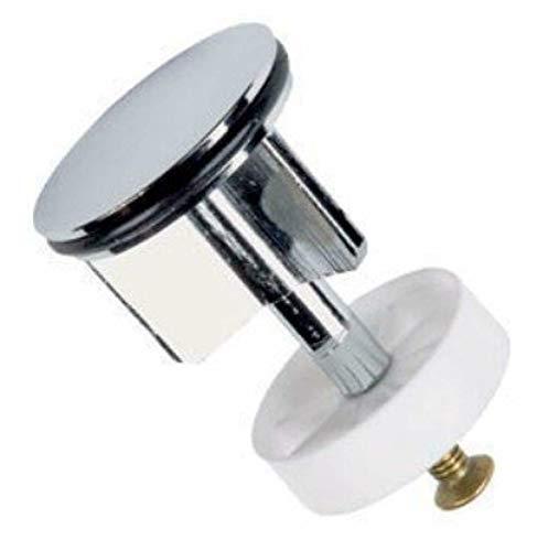 LKT - Tappo saltarello da lavandino, 38 mm, cromato (40 mm)