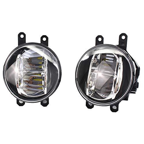 Fransande - Lámpara antiniebla LED para coche, repuesto directo para: 2013-2018 Corolla Camry Rx350 Es350 Ct200H Lx570 81210-48050 81220-48050 81220-48050
