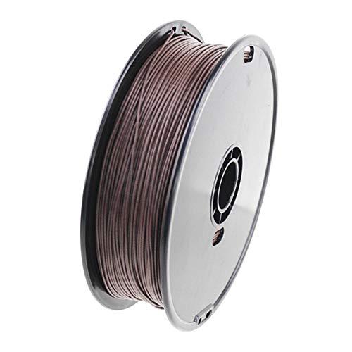 Filamento de impresión 3d, filamento de madera Pla, que agrega un 10% de fibra de madera, utilizado para impresora 3d y bolígrafo 3d-Madera de palma_3,0 mm