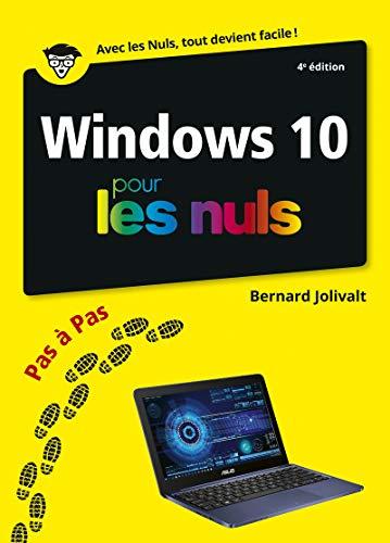 Windows 10 pas à pas pour les Nuls, 4e éd