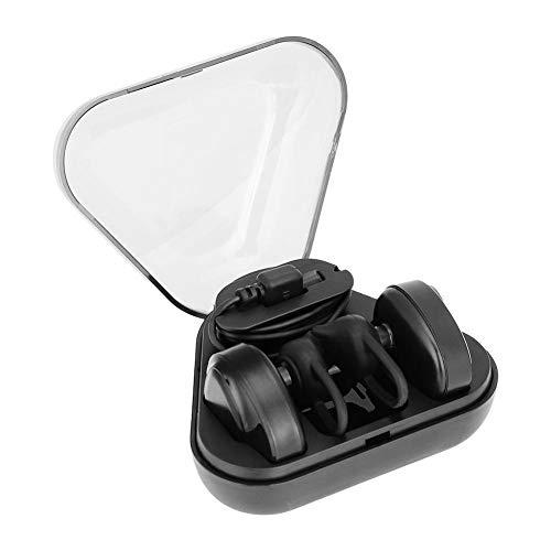 Topiky Draadloze Bluetooth Oordoppen, Mini Stereo Oordopjes met opladen Doos, In-ear Sport Hoofdtelefoon Ruisonderdrukkende Headset voor Gym/Hardlopen/Fietsen/Wandelen