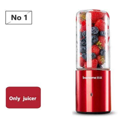 Mdsfe USB Blender Wiederaufladbare Entsafter Tasse Tragbare elektrische automatische Gemüse Fruchtsaft Maker Cup Saft Extraktor Mixer Flasche - nur Entsafter