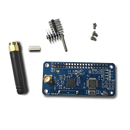 Hima MMDVM Hotspot Spot Radio Station Antenna + MMDVM Expansion Board Support P25 DMR YSF D-Star UHF VHF WiFi Digital Voice Modem Suitable for Raspberry Pi-Zero W, Pi 3, Pi 3B+