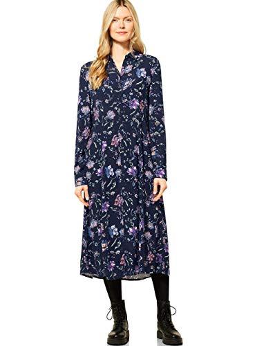 Cecil Damen 142838 Kleid, deep Blue, S