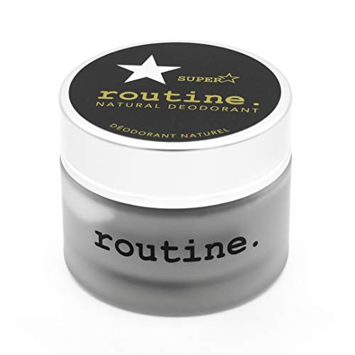 Routine Natural Deodorant - Superstar: Activated Charcoal, Magnesium & Prebiotics - 58g