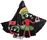 Anime Marvin el disfraz de Halloween marciano adulto capa con capucha para Navidad Halloween Cosplay Disfraces