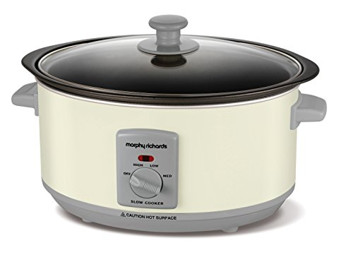 Morphy Richards Sear and Stew Mijoteuse 3,5 L 460013 Mijoteuse Crème