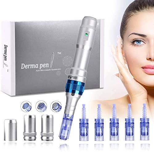 Dr.pen A6 Ultima con Certificado CE, Mysweety Derma Roller Pen Stamp System, para el Tratamiento de...