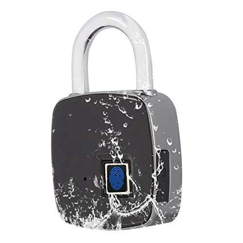Eboxer vingerafdrukherkenning, smart keyless waterproof beveiliging, anti-diefstal padlock, hangslot voor deuren, kasten, sport, fietsen, rugzakken en sluitvakken