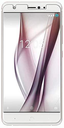 im77r 2 Unidades de Protector de Pantalla Premium 2.5D Cristal Vidrio Templado Transparente 9H BQ Aquaris X/BQ X Pro