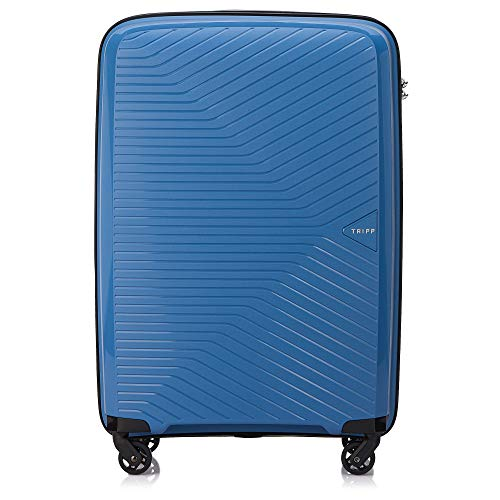 Tripp Sky Blue Chic Medium 4 Wheel Expandable Suitcase