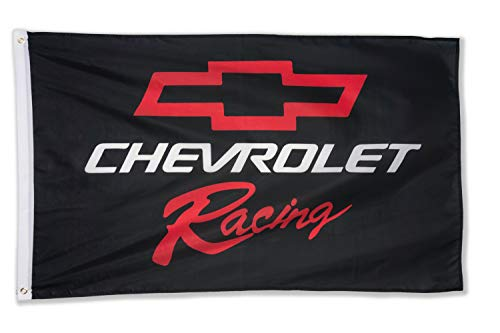 WHGJ Car Flag 3x5 ft for Racing Chevy Large Decor Emblem Outdoor/Indoor Banner