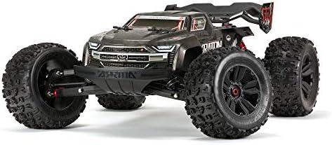 ARRMA 1 8 KRATON 4WD Extreme Bash Roller Speed Monster RC Truck Black ARA106053 product image