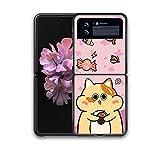 Inchoi Compatible con Samsung Flip 3 Linda Caja telefónica,E
