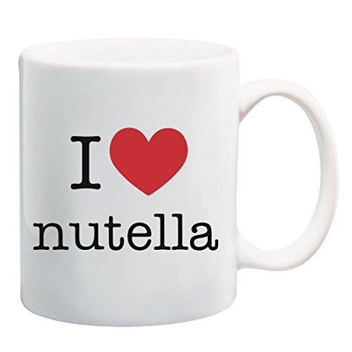I Love Nutella T-shirt mok