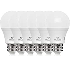 PERFECT 100W A19 Light Bulb Replacement. This small and compact LED bulb will fit in all light fixtures 15-Watt LED replaces 100W Incandescent and Halogen Light Bulbs saving you 87% in energy use General purpose bulb ideal for use in table lamps, flo...