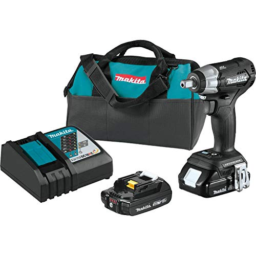 "Makita XWT13RB 18V LXT Sub-Compact 1/2"" Impact Wrench"