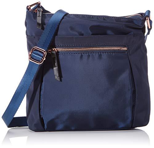 Clarks Bolso bandolera Raina Rush para mujer, 1 x 1 x 1 cm, color Azul, talla 1x1x1 cm (B x H x T)