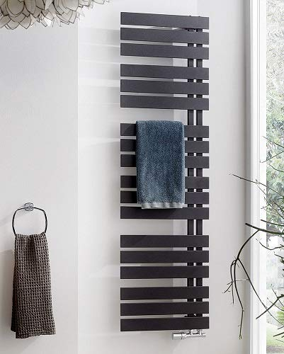 HSK Yenga Designheizkörper, graphit-schwarz, 500x1186