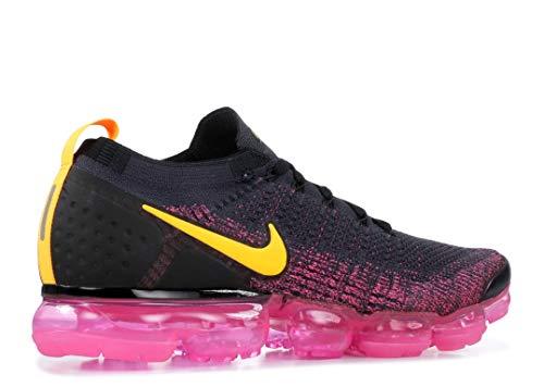 Nike Air Vapormax Flyknit 2, Gridiron/Laser Orange, 11.5 3