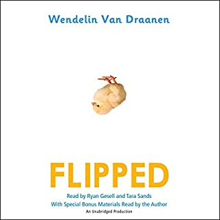 Flipped audiobook cover art