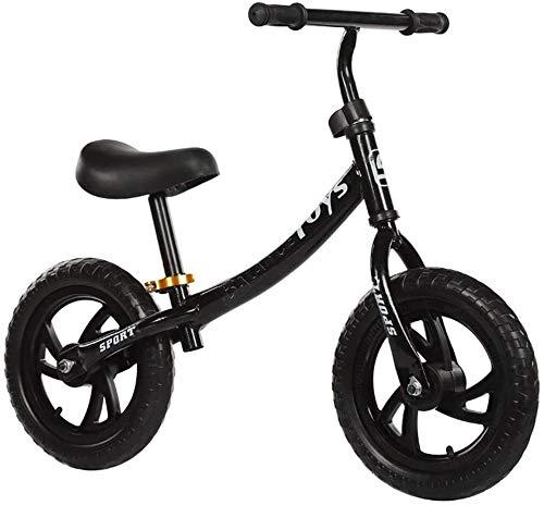 Bicicleta de Equilibrio De carbono bicicleta de equilibrio for los niños y niños pequeños marco de acero al carbono muchacha del muchacho de la bicicleta del entrenamiento de 3-6 años de edad sin peda