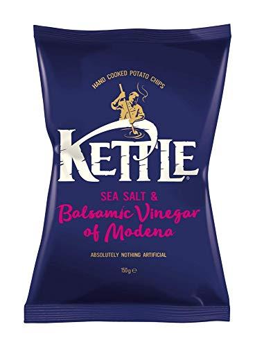 Kettle Chips Sea Salt & Balsamic Vinegar, 150g
