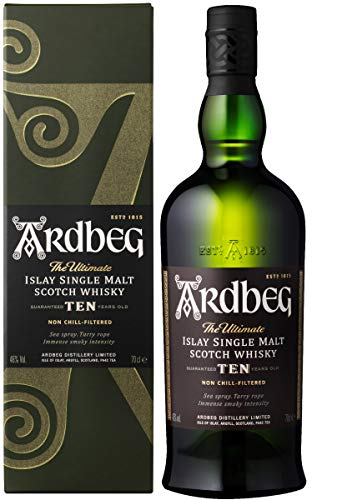 Ten Year Old Whisky Ardbeg con astuccio - 700 ml